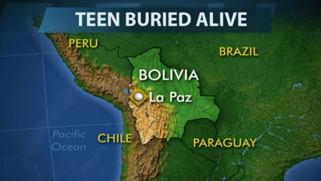 Video: Suspected Killer Buried Alive by Bolivian Villagers
