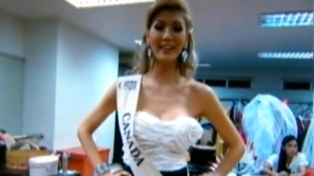 VIDEO: Miss Universe Canada contestant Jenna Talackova, 23, claims discrimination.