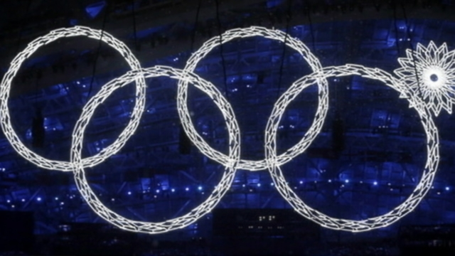 VIDEO: The opening ceremonies included illuminated snowflakes that morphed into Olympic rings.