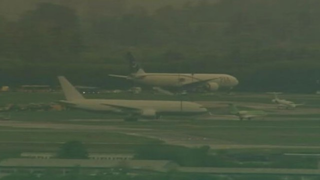 Video: 2 Arrests in Pakistan Airlines Flight Scare