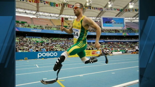 VIDEO: Double amputee Oscar Pistorius will compete in this year?s London games.