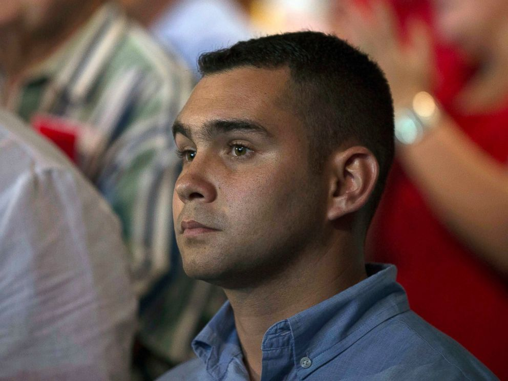 PHOTO: Elian Gonzalez attends a gala for the 90th birthday of Cuban Leader Fidel Castro at the Karl Marx theater in Havana, Cuba, Aug. 13, 2016.