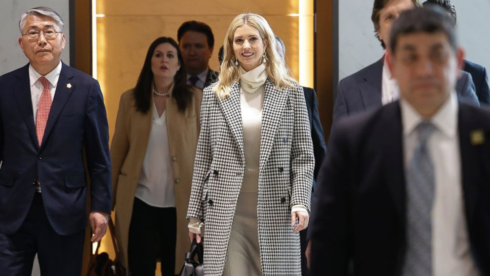 Ivanka Trump arrives in South Korea ahead of Olympics closing ceremony