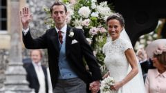 Pippa Middletons wedding in photos