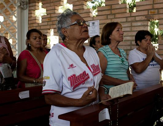 Venezuelans Mourn the Death of Hugo Chavez