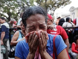 Photos: Venezuelans Mourn the Death of Hugo Chavez