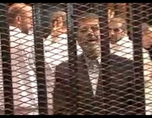 Egypt's Mohammed Morsi Arrives at Trial