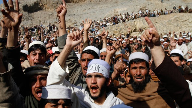 PHOTO: Afghanistan Protests Continue