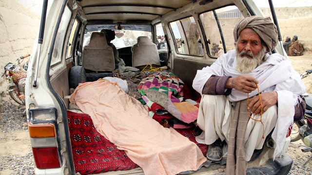 PHOTO: American Opens Fire on Afghans, 15 Dead