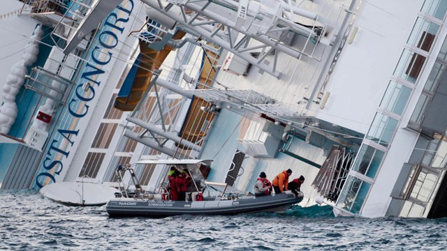 PHOTO: 3rd Survivor Rescued From Stricken Cruise Ship