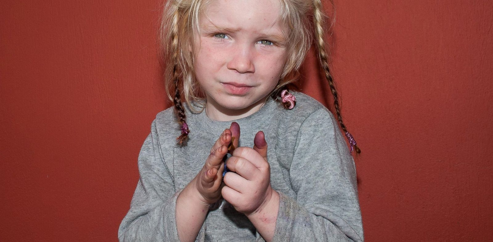 PHOTO: Greek authorities on Oct. 18, 2013 have requested international assistance to identify the girl found living in a Gypsy camp with a couple arrested and charged with abducting her from her birth parents.