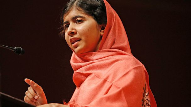 ap Malala Yousafzai speech thg 131003 16x9 608 Malala Wins Top Sakharov Prize Day Before Nobel Peace Prize to Be Announced