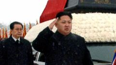 PHOTO: In this Dec. 28, 2011 file photo, North Korea's leader, Kim Jong Un, front center, is followed by his uncle Jang Song Thaek, as he salutes beside the hearse carrying the body of his late father North Korean leader Kim Jong Il.
