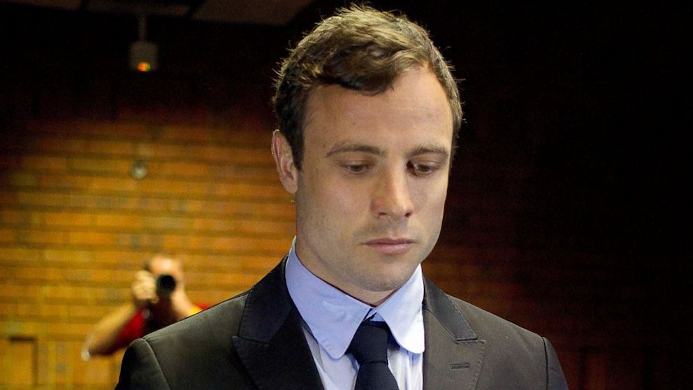 PHOTO: Oscar Pistorius appears at a court in Pretoria, South Africa, Monday, Aug. 19, 2013.