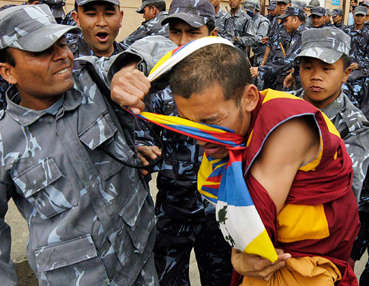 Rage at China: Deadly Tibet Riots