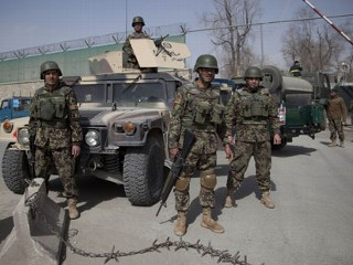 Suicide Attacks Strike Afghanistan as Hagel Visits