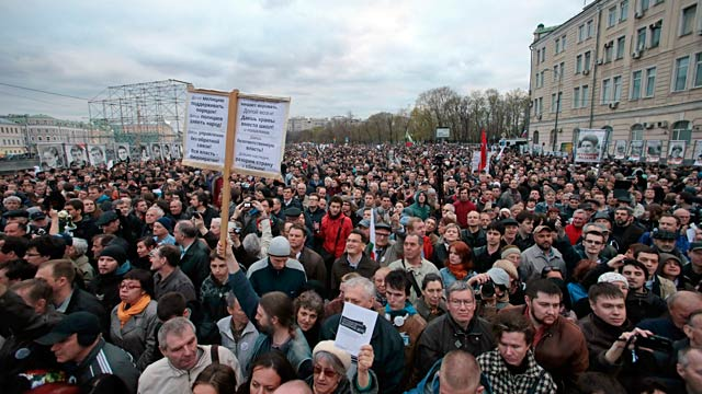 PHOTO: Anti-Putin protest