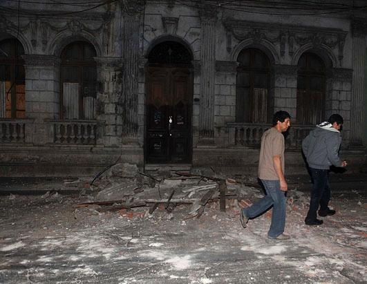 8.8 Magnitude Earthquake Strikes Chile