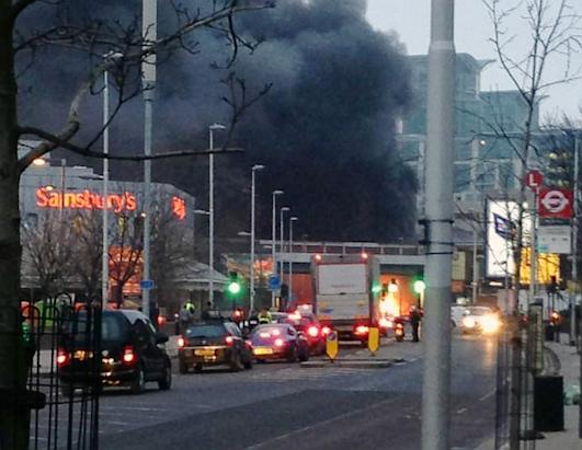 Helicopter Crash in Central London