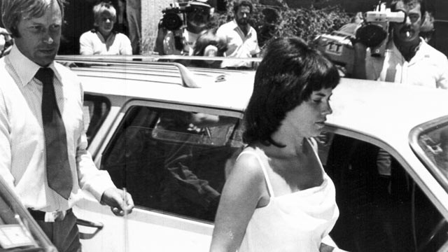 PHOTO: Michael and Lindy Chamberlain leave  Alice Springs courthouse, Feb. 2, 1982. The Northern Territory coroner is opening a fourth inquest, Feb. 24, 2012 into the case of Chamberlain's 9-week-old daughter Azaria, who vanished from her tent in the Aust