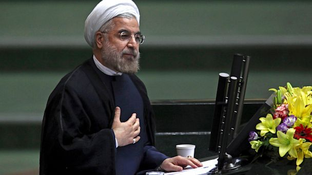 ap hasan rouhani ll 130905 16x9 608 Irans President Tweets Rosh Hashannah Blessing to Jews