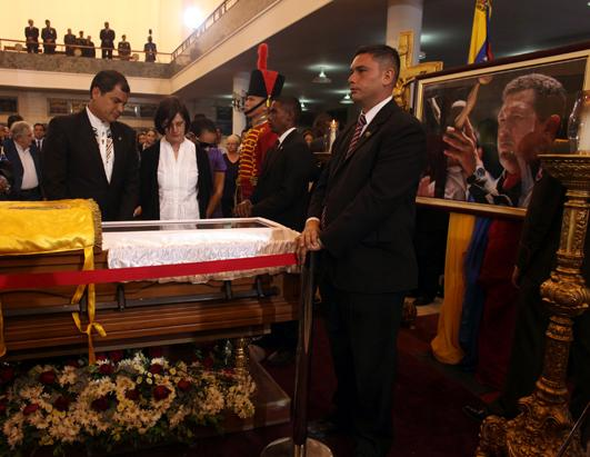 Venezuelans Mourn Chavez