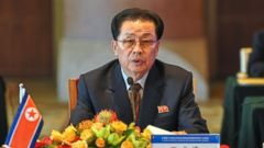 PHOTO: In this Aug. 14, 2012 file photo provided by China's Xinhua News Agency, Jang Song Thaek, North Korea's vice chairman of the powerful National Defense Commission, attends a meeting on developing the economic zones in North Korea, in Beijing.