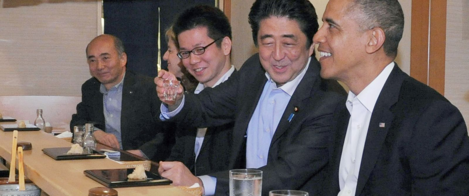 Obama And Cabinet What President Obama Is Eating In Japan Abc News