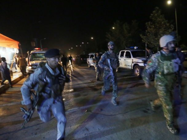 American University Attacked in Kabul