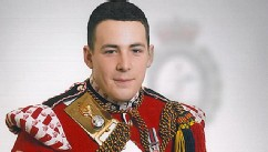 PHOTO: Lee Rigby known as 'Riggers' to his friends, who is identified by the MOD as the serving member of the armed forces who was attacked and killed by two men in the Woolwich area of London, May 22, 2013.