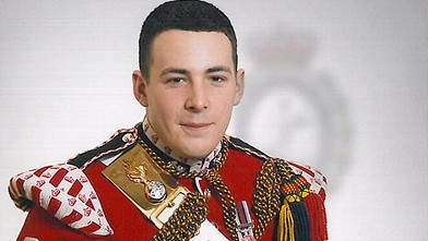 Lee Rigby known as 'Riggers' to his friends, who is identified by the MOD as the serving member of the armed forces who was attacked and killed by two men in the Woolwich area of London, May 22, 2013.