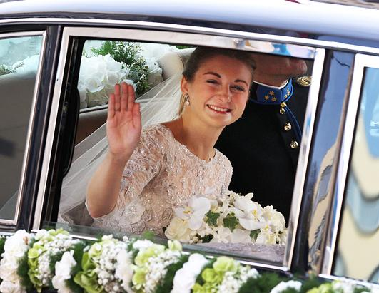 Prince Guillaume and Princess Stephanie Marry