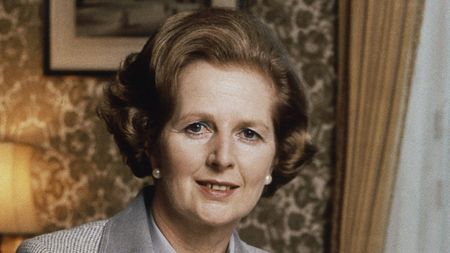 PHOTO: British Prime Minister Margaret Thatcher in 1980.