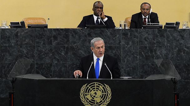 ap netanyahu un ga kb 131001 16x9 608 Israeli PM Prepared to Stand Alone Against Iran