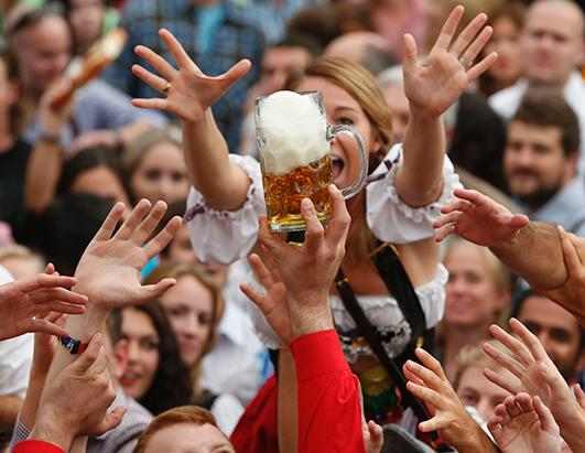 Oktoberfest Brings in the Fun