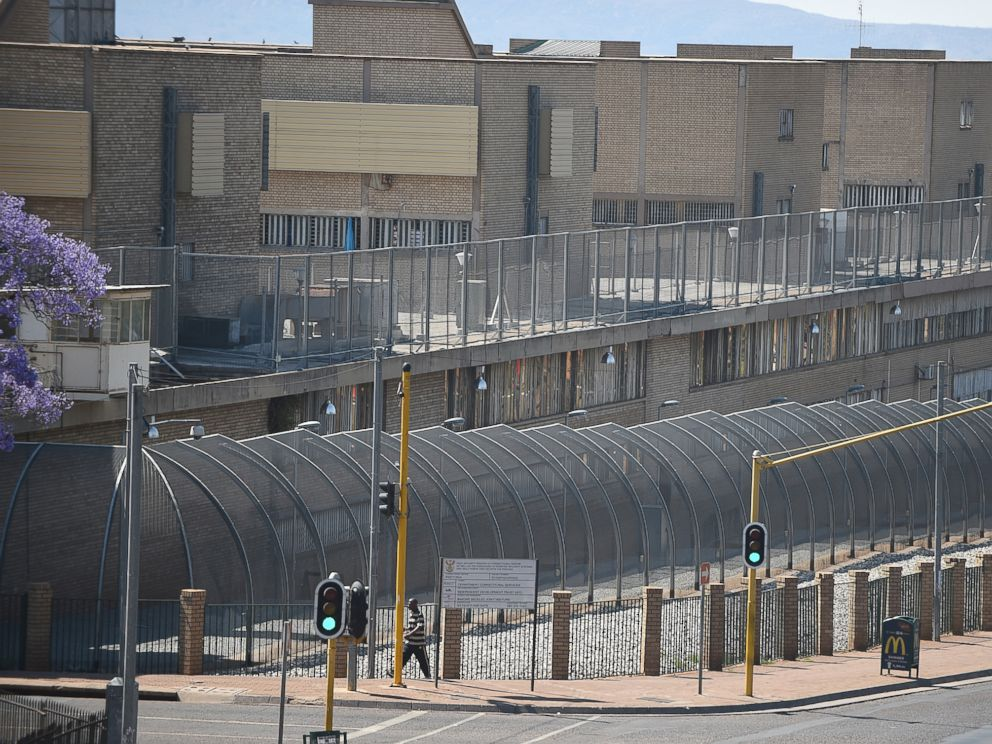 PHOTO: This Tuesday, Oct. 21, 2014 file photo shows the Kgosi Mampuru Correctional Services prison in Pretoria, South Africa.