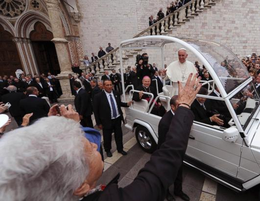 Pope Francis Visits Assisi, the Birthplace of His Namesake Saint