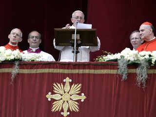 Pope Makes Easter Pleas for Mideast Peace