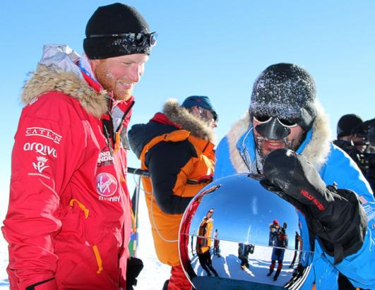 Prince Harry Reaches the South Pole at Last