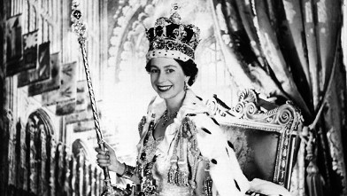 PHOTO: Britain's Queen Elizabeth II is shown on her Coronation Day, in 1953.