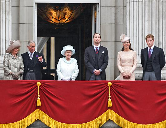 London Salutes Queen Elizabeth