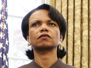 National Security Adviser Condoleezza Rice