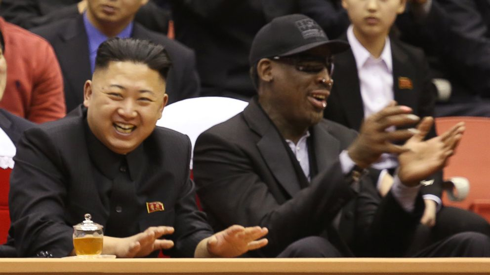 Rodman on his relationship with Kim Jong Un: 'He treats me as a friend'