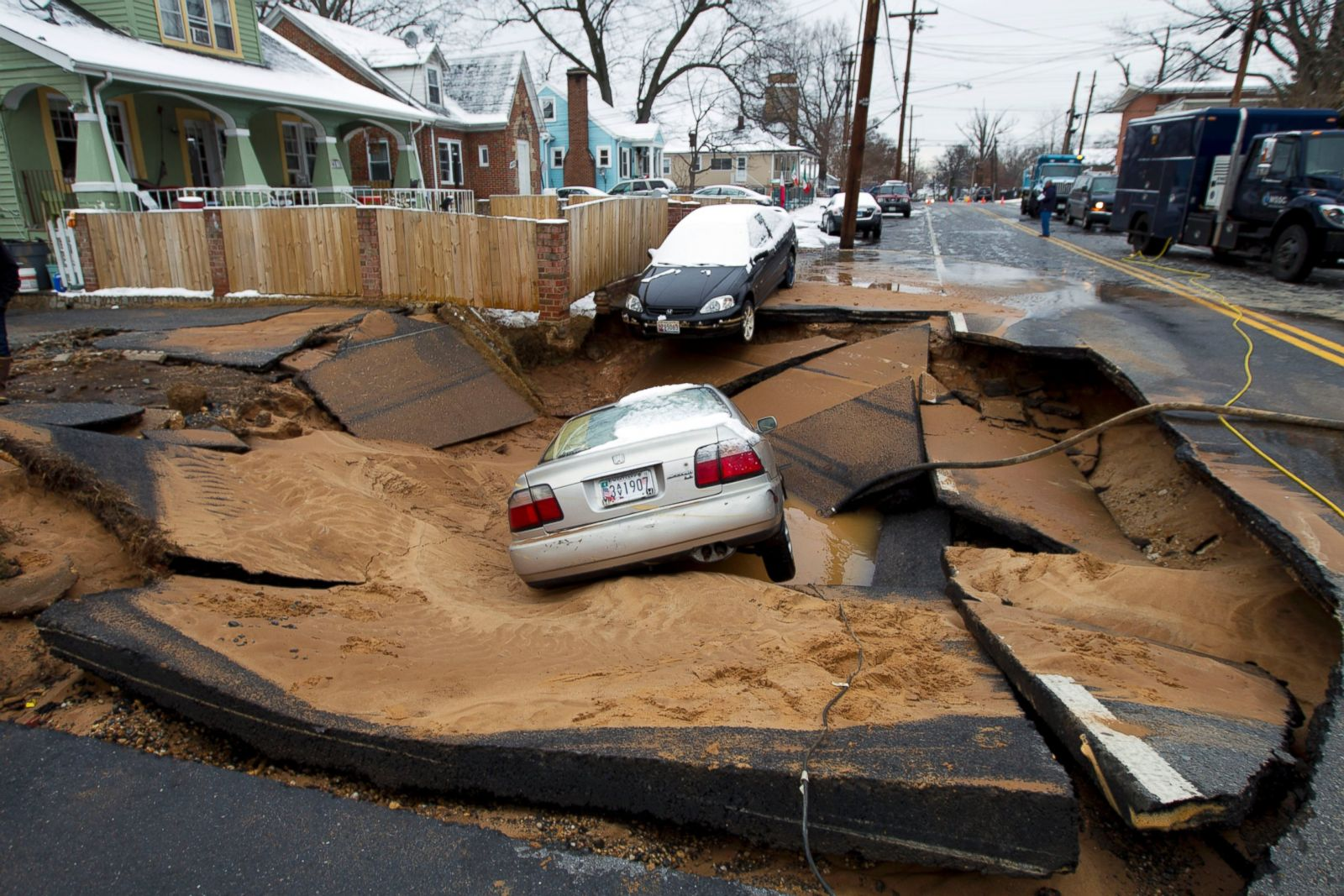 suburban dc picture incredible sinkholes around the world   abc news