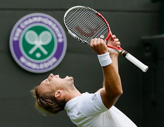 Dejection and Jubilation at Wimbledon