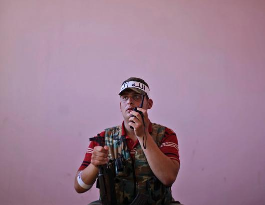 Portraits of Syrian Rebels