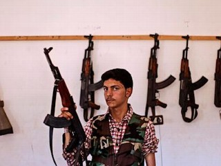 Photos: Faces of the Syrian Rebel Force