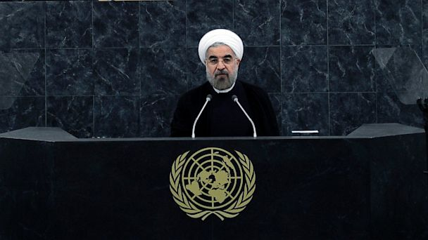 ap un general assembly rouhani kb 130925 16x9 608 Iran: Were No Threat, Warns Against Syria Strikes