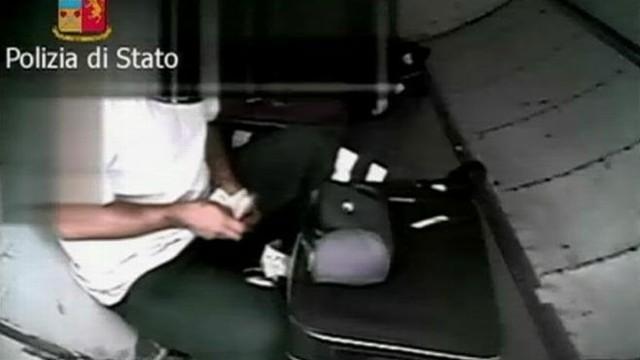 Italian cops hidden camera operation reveals brazen alleged thefts.