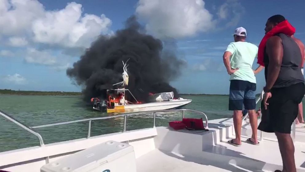 1 dead, 9 injured after boat explodes in the Bahamas